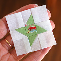 Free Friendship Star Mini Block Pattern