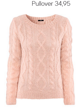 Rose Knit Pullover H&M Fall 2012 Collection