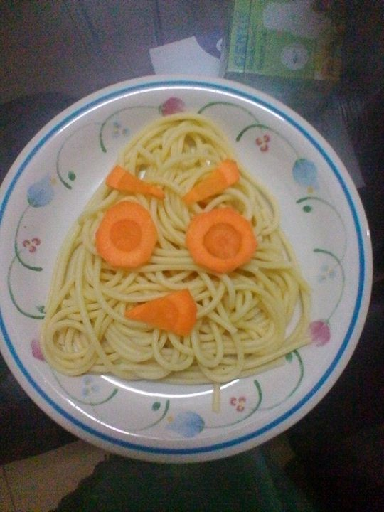 gambar bento mudah untuk pikat selera si kecil, bento simple, cara menarik minat anak untuk makan