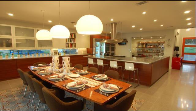 Fotos de techos fotos de sala comedor y cocina - Fotos de cocina comedor ...