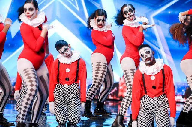 These Creepy Clowns Scared The The Light Out Of The Judges Of This Talent Competition With Their Horrifying Performance! Must Watch!