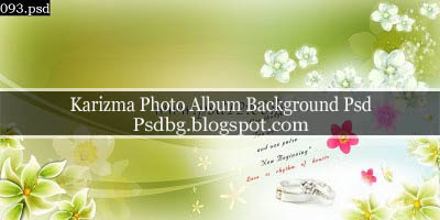 Karizma Photo Album Background Psd