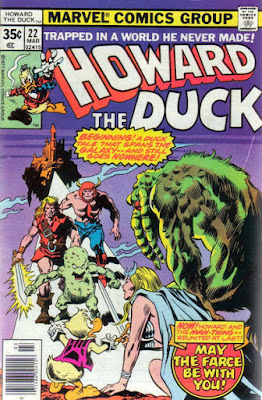 Howard the Duck #22, Man-Thing
