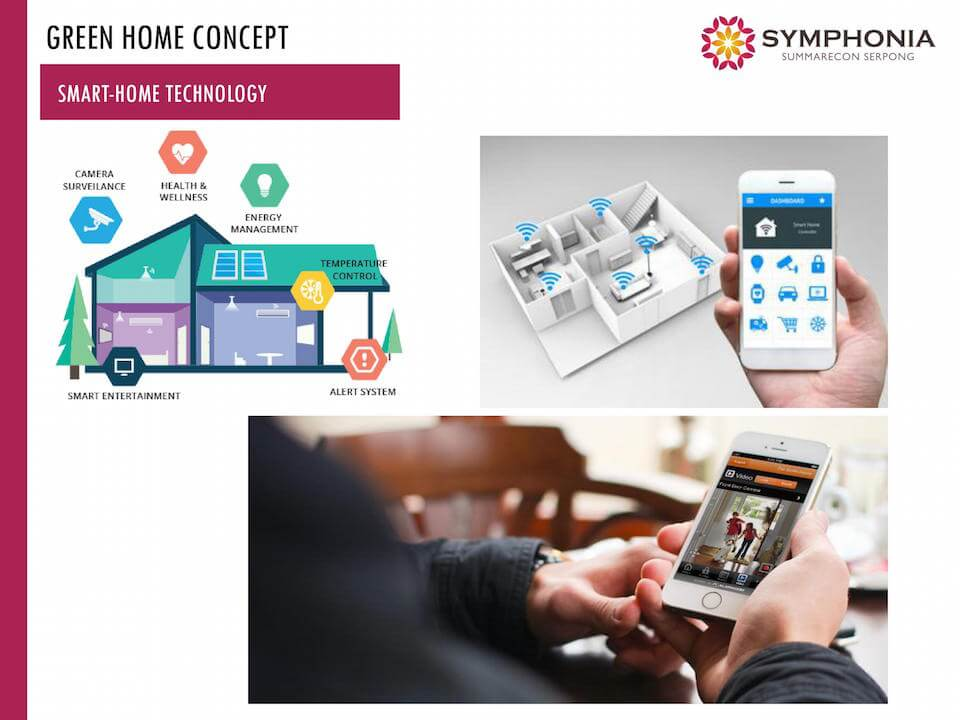 Smart Home @ Symphonia Summarecon Serpong