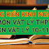 Sáng kiến kinh nghiệm môn Vật lý cấp THPT (SKKN môn Vật lý lớp 10, 11, 12)