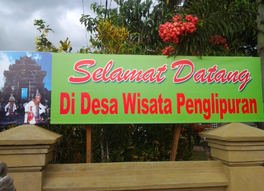 Objek Wisata Desa Penglipuran Di Bali Ini Merupakan Adalah
