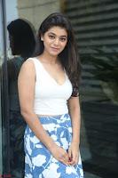 Yamini in Short Mini Skirt and Crop Sleeveless White Top 044.JPG