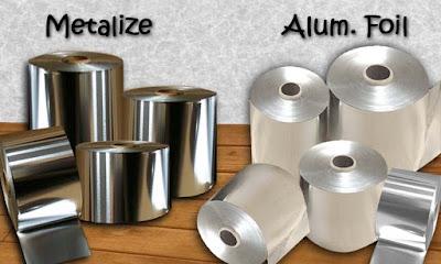 Suplier Kemasan Roll Aluminium Foil