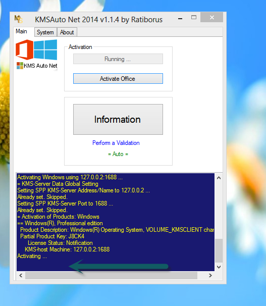 Free Download KMSAuto Net 2014 v1.1.4 Portable [Windows 8.1 Activater]   The Software Corner