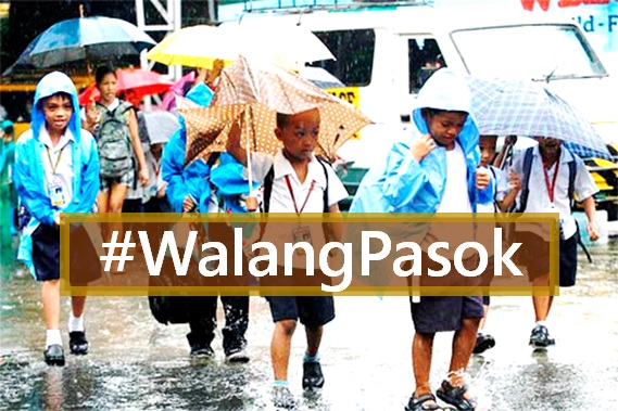 #WalangPasok: Class suspensions for Monday, August 15, 2016
