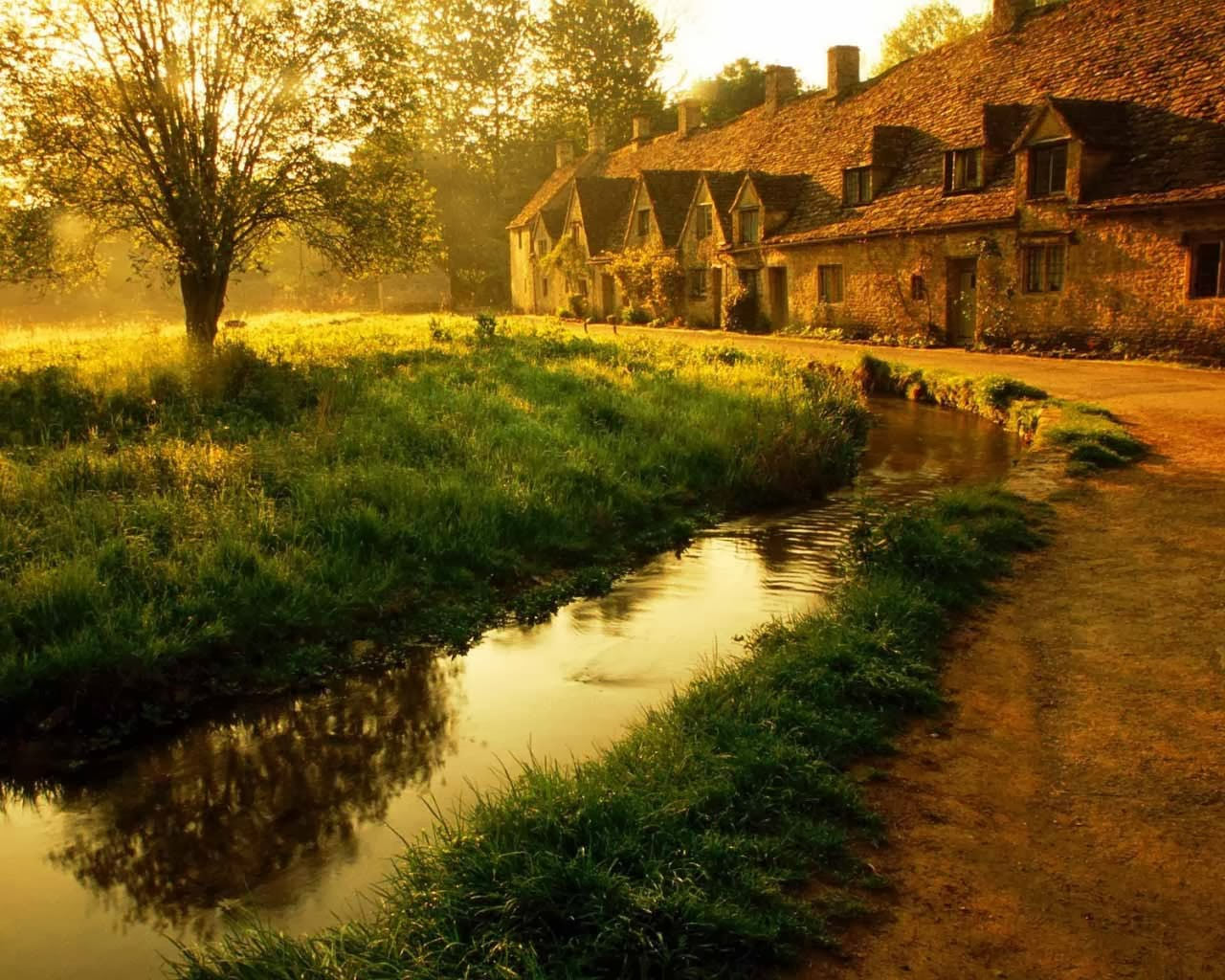 HD Wallpapers: English Cottage Wallpapers