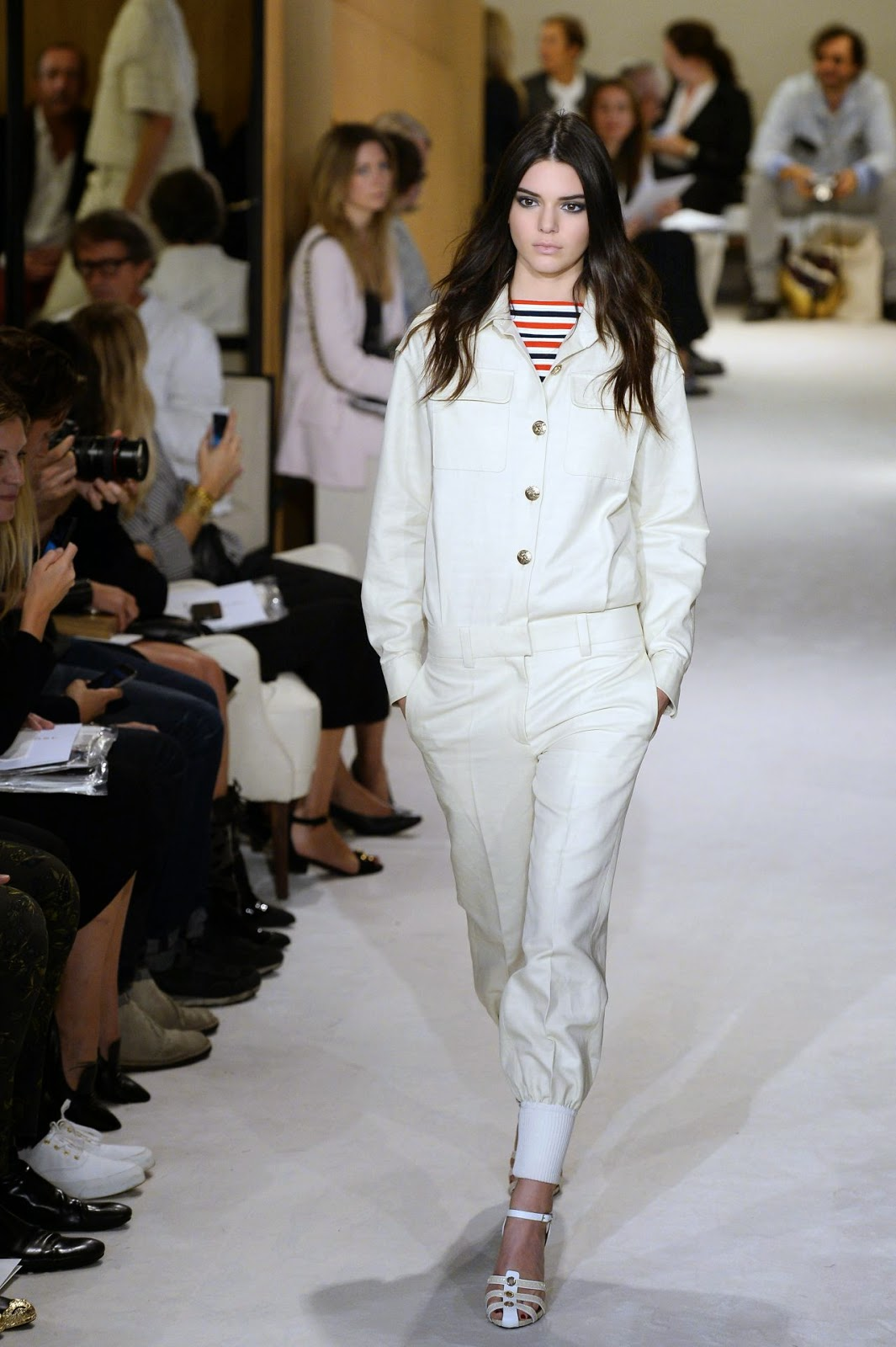 Kendall Jenner - Sonia Rykiel Spring/Summer 2015 Paris Fashion Week Show