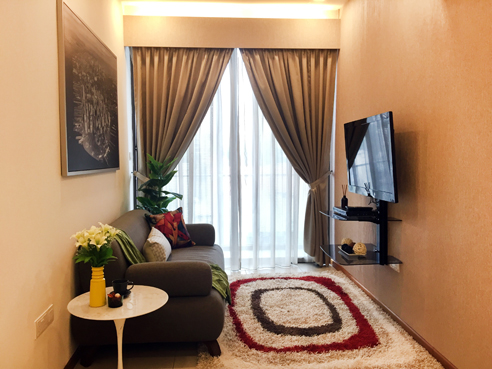 Avant at Aljunied 1 Bedroom - Living
