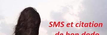 SMS et citation de bon dodo mon amour