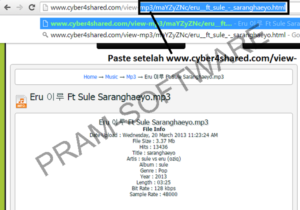 Cara Mendownload File di 4shared di www.cyber4shared.com