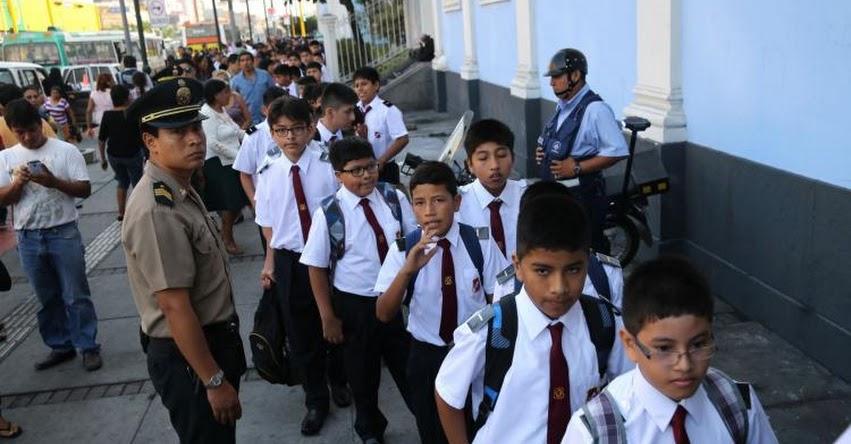 MINEDU: Más de 8 millones y medio de escolares vuelven hoy a las aulas - www.minedu.gob.pe