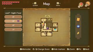 the near final map of the 3rd floor with the right room in the upper row missing