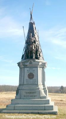 Gettysburg Battlefield - Tammany Regiment Monument