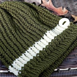 Loom knit slouchy hat pattern free