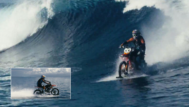 Robbie Maddison doing the impossible