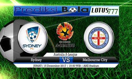 PREDIKSI SKOR Sydney vs Melbourne City 15 Desember 2017
