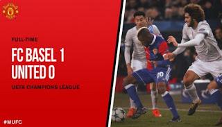 Manchester United Kalah 0-1 di Kandang Basel