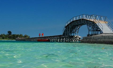 Jembatan-cinta, pulau-tidung