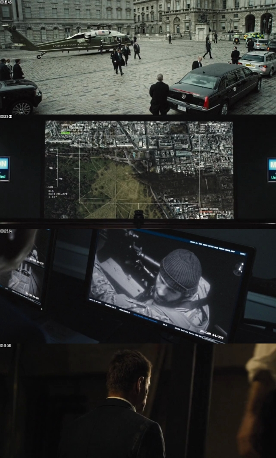 London Has Fallen 2016 BluRay 720p 480p Dual Audio Hindi English Full Movie Download