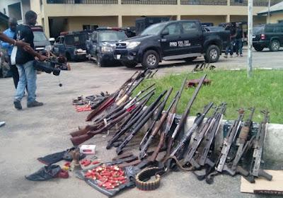 9 nigerian policemen robbery