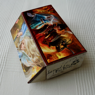 Cardboard Deckbox with L5R artwork