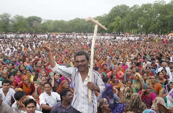 आक्रोश: किसान आंदोलन की आंच बिहार में भी पहुंची।