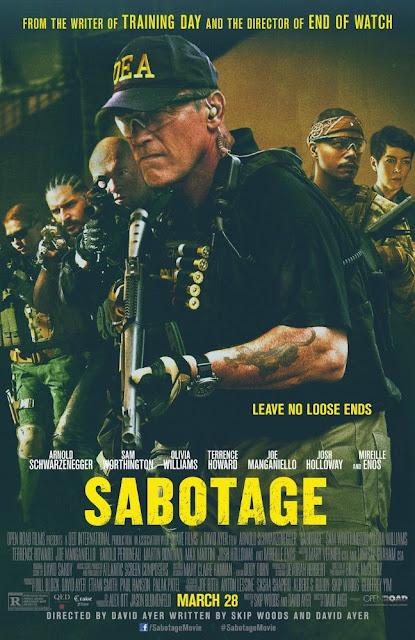 Sinopsis Film Terbaru Sabotage (2014)