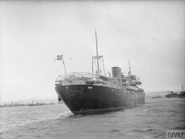 25 January 1941 worldwartwo.filminspector.com Norwegian freighter Elisabeth Bakke
