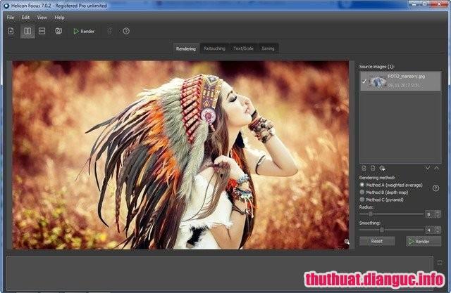 Download Helicon Focus Pro 7.0.2 Full Cr@ck – Phần mềm chỉnh sửa ảnh tốt nhất