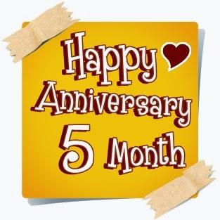 Gambar Foto DP BBM Ucapan Happy Anniversary