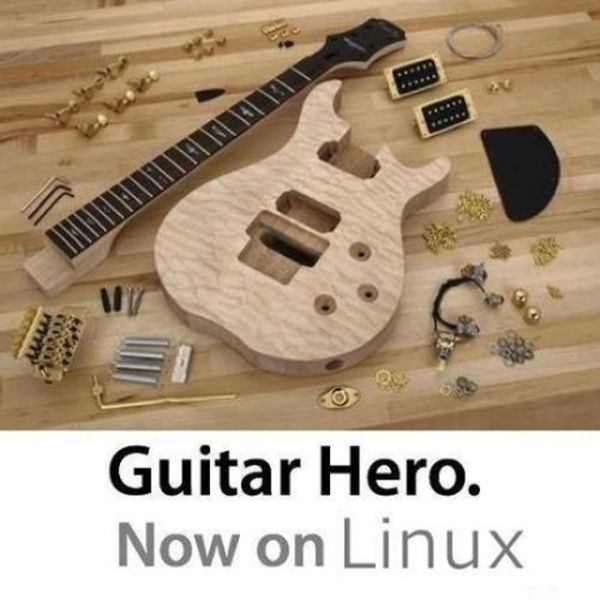 Guitar Hero - Now on Linux
