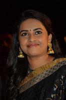 Actress Sri Divya New Dazzling Stills in Saree