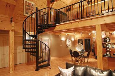 Model Desain Interior Rumah Kayu Modern Terbaik