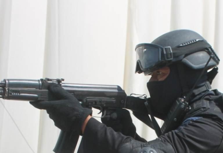 Polisi Ngawi dor pencuri