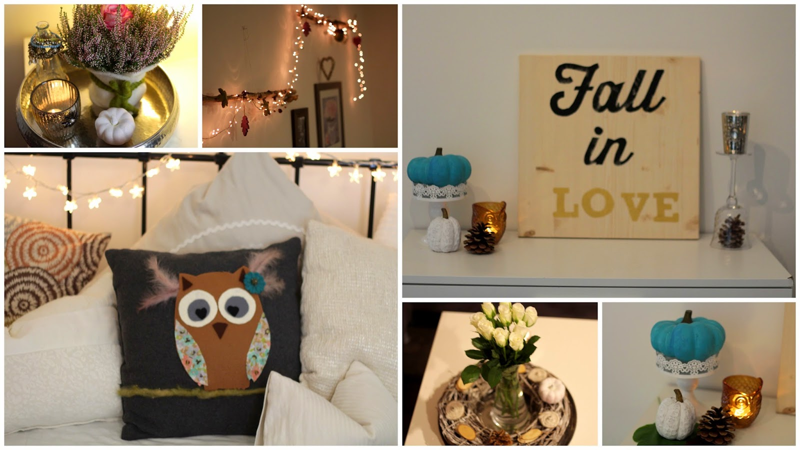 Misstipsforyou on blog 7 diy raumdeko ideen herbst 2014 for H b bedrooms oldham
