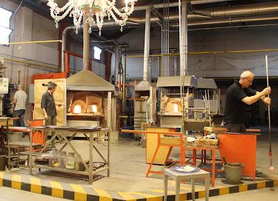 Fábricas de cristal de Murano. Qué ver en Murano. Artesanos del vidrio de Murano