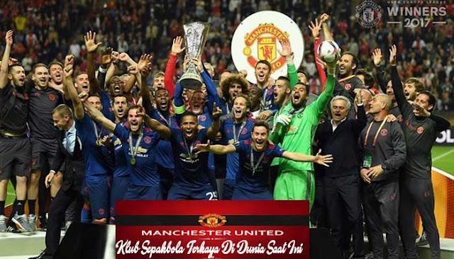 Manchester United Klub Sepakbola Terkaya Di Dunia Ketika Ini
