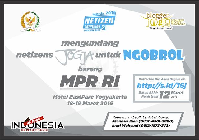 Gathering Netizen Bersama MPR RI di Yogyakarta