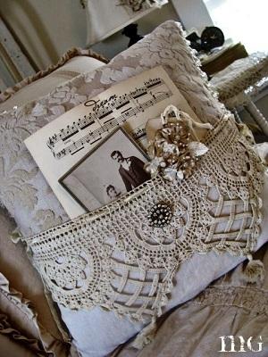 Almofadas quadrada de crochê