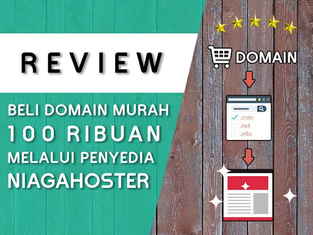 Review ulasan atau testimoni membeli domain di Niagahoster