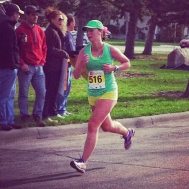 5/3/14 Brookings Half Marathon 2:02:53