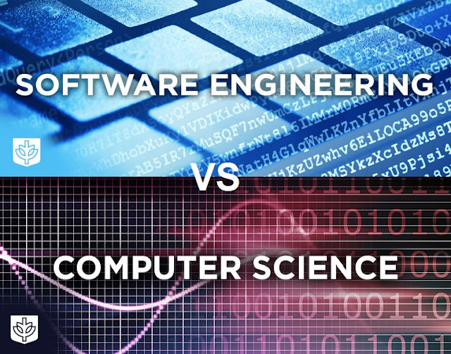 software engineering vs computer science, computer science vs software engineering