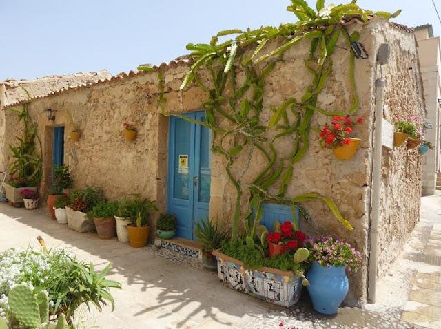 le antiche case dei pescatori di Marzamemi