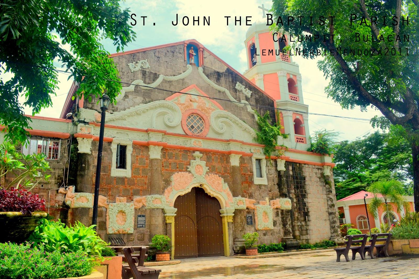 Iglesias de las Filipinas: CALUMPIT, Bulacan: St. John the Baptist ...