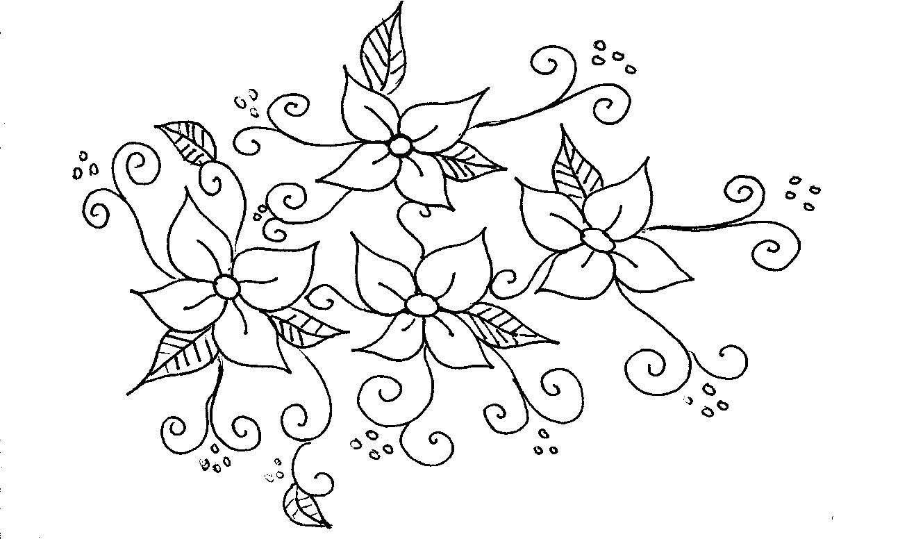 Flores Para Colorir Imagui